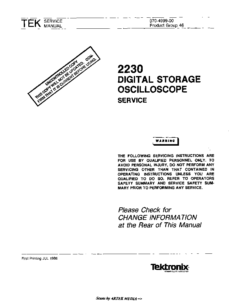 tektronix 2230 sm service manual download schematics eeprom rh elektrotanya com tektronix 2230 oscilloscope service manual tektronix 2230 operator's manual