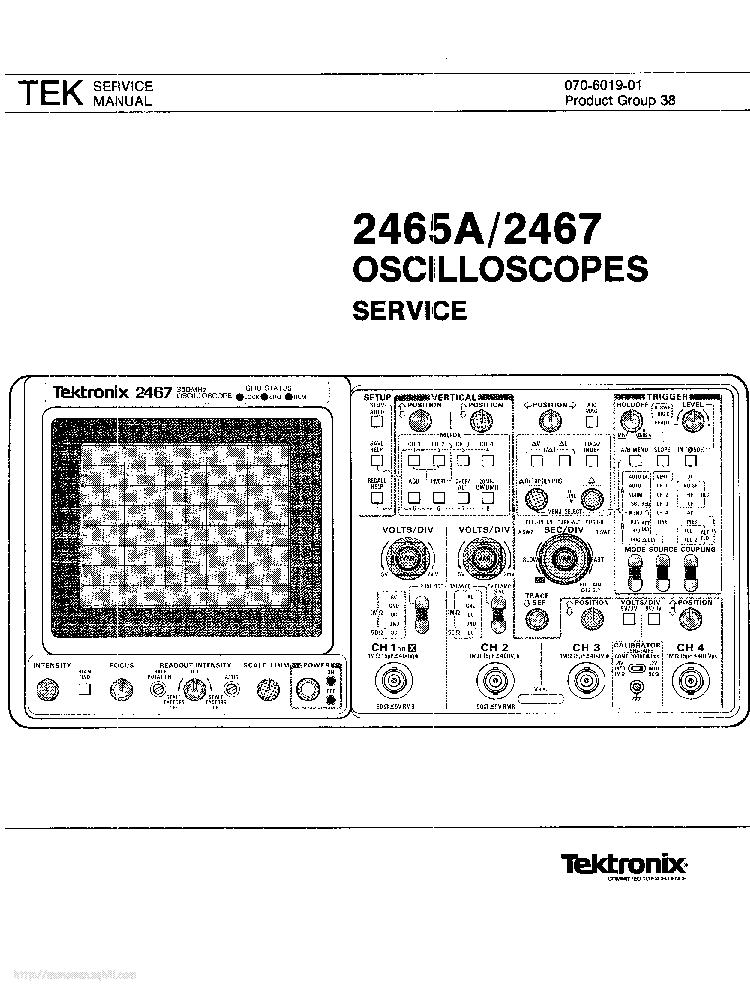 tektronix 2465a 2467 service manual download  schematics  eeprom  repair info for electronics tektronix 2440 manual pdf tektronix 2440 manual pdf