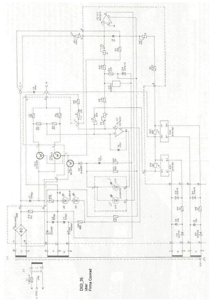 VOLTCRAFT DIGI 35 SCH Service Manual download, schematics, eeprom ...