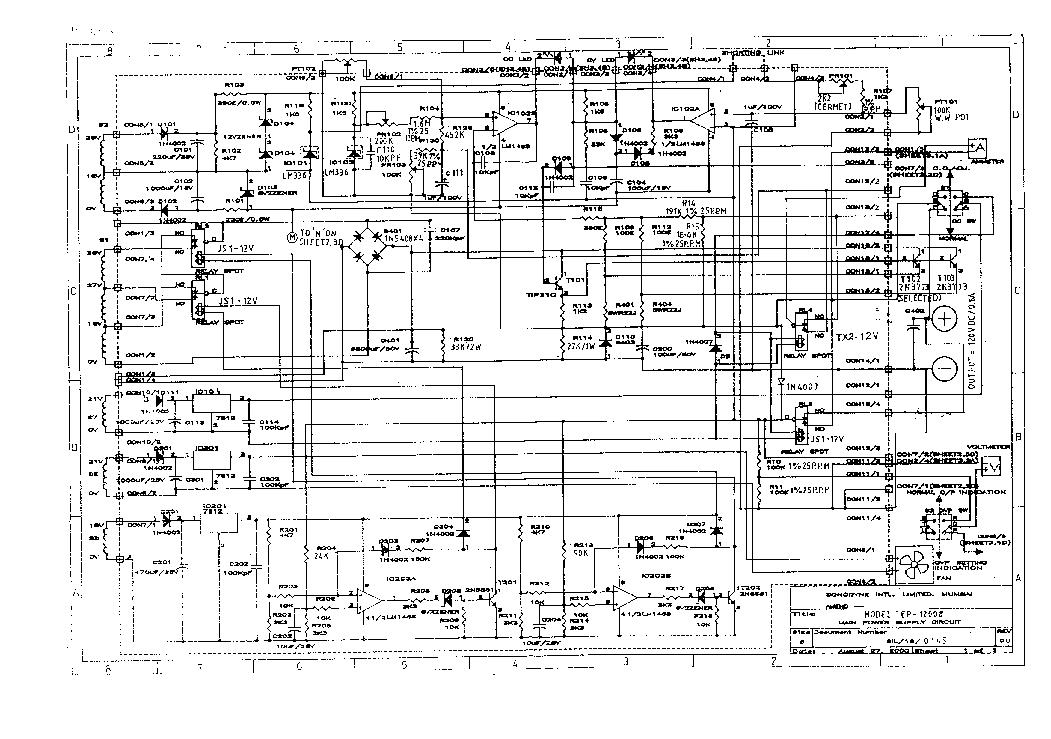 Voltcraft Power Supply Pps 12008 Sch Service Manual