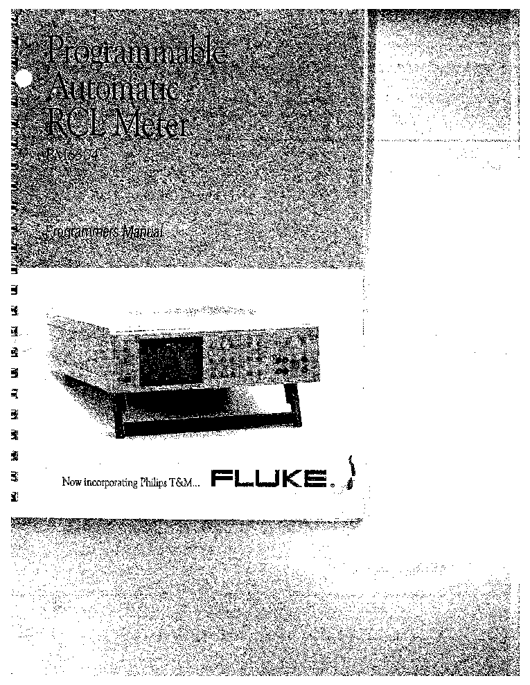 Fluke 8010a Manual