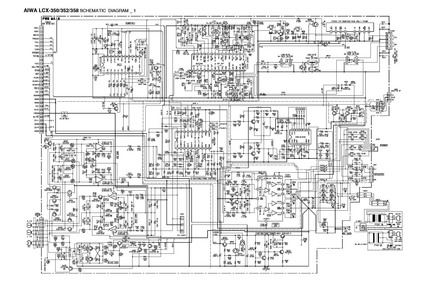 AIWA-LCX-350-352-358 service manual (1st page)