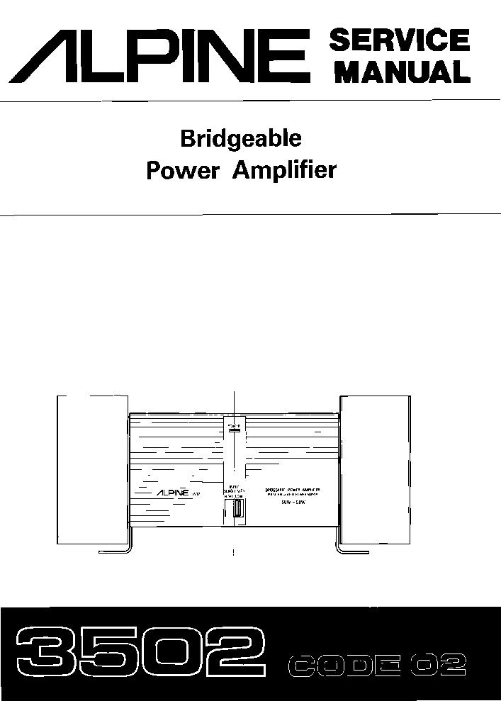 alpine power pack wiring diagram ktp 445u alpine power