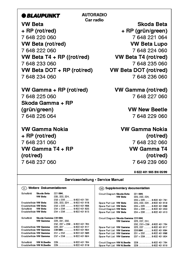 blaupunkt_beta_skoda.pdf_1 blaupunkt 568 wiring diagram blaupunkt 568 wiring diagram \u2022 45 63  at edmiracle.co