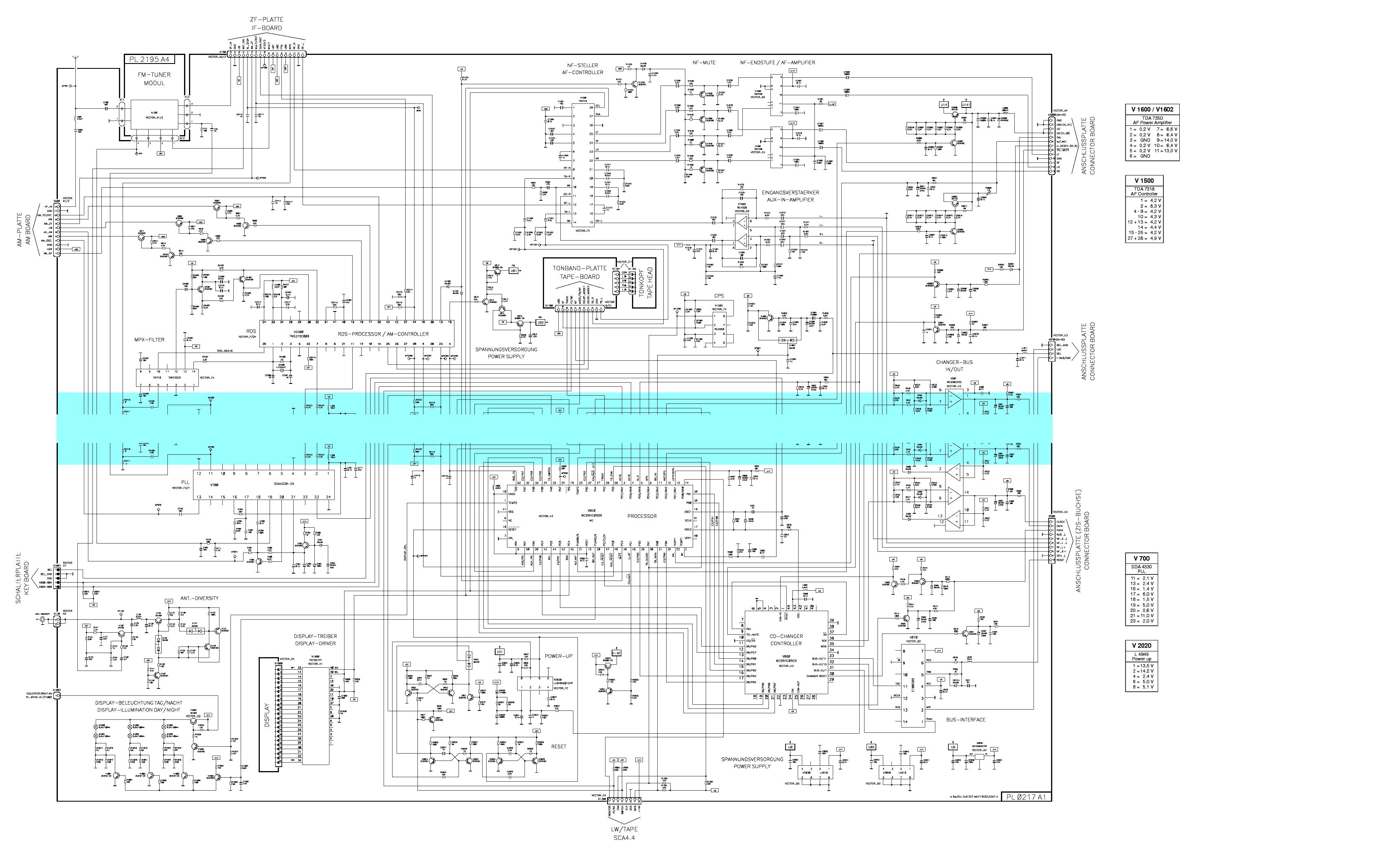 BLAUPUNKT BMW C23 Service Manual download, schematics
