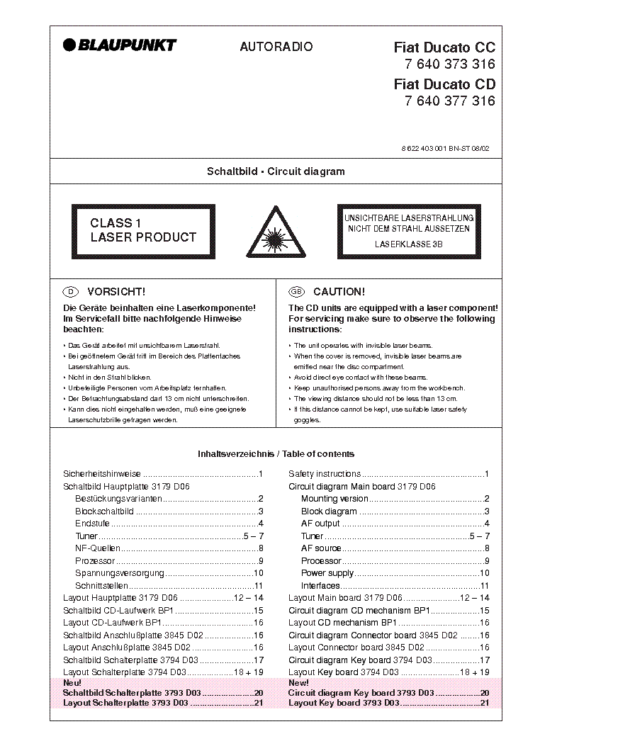 Blaupunkt Fiat Ducato Cc Service Manual Download