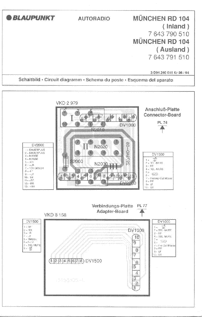 blaupunkt_munchen rd104.pdf_1 blaupunkt nashville dab35 wiring diagram wiring wiring diagram Basic Electrical Wiring Diagrams at edmiracle.co