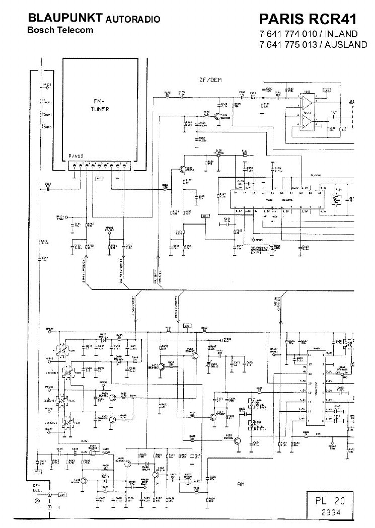 Инструкция blaupunkt paris rcr 41