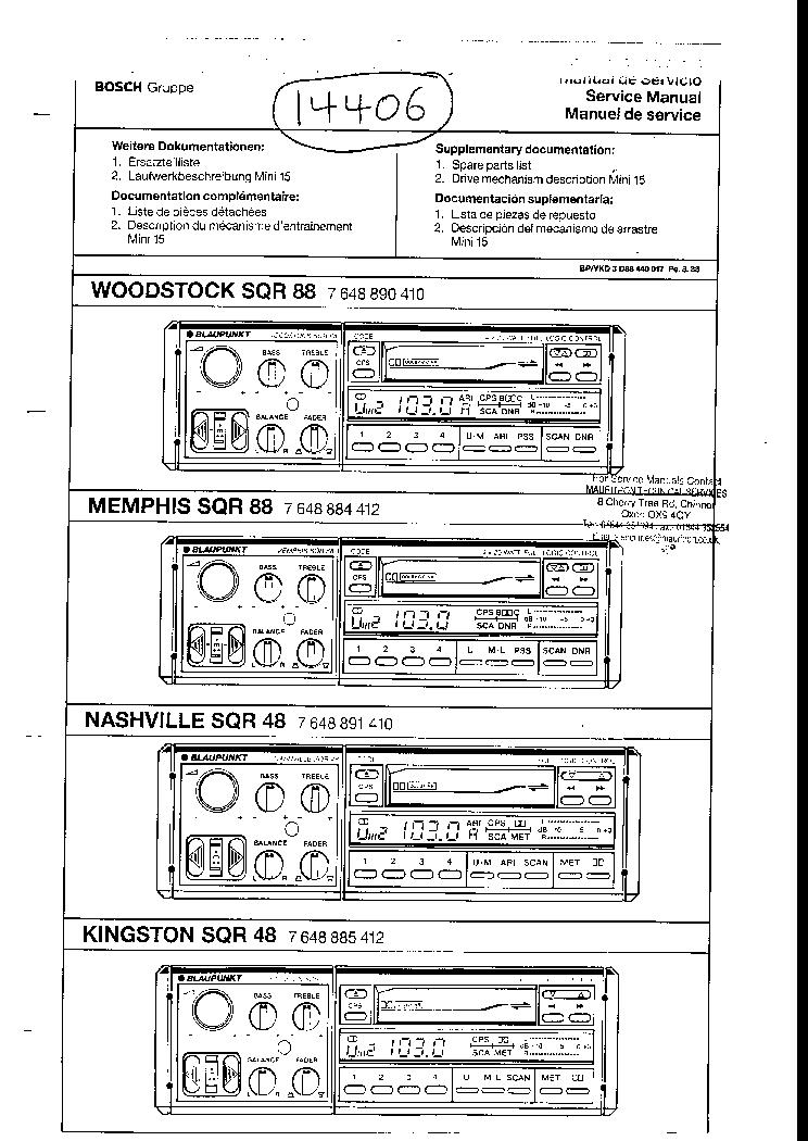 blaupunkt car stereo schaltplang