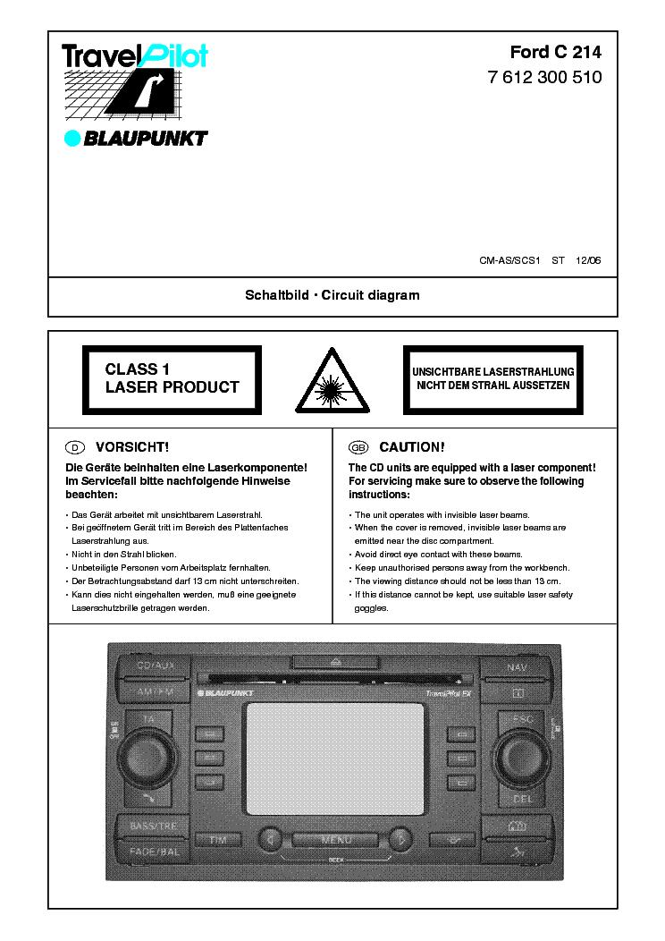 Blaupunkt travelpilot manual ex