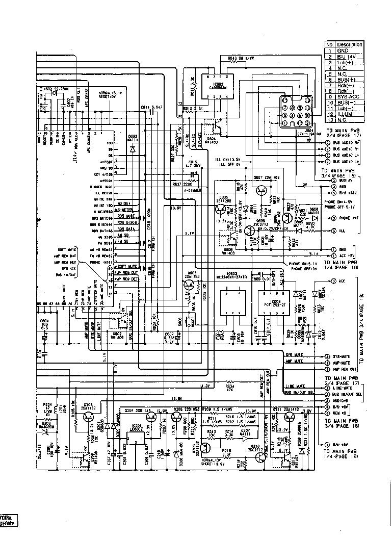 Clarion Ps2511bc Dc 2535bc Service Manual Download Schematics Wiring Diagram Free Schematic Arx 8570rzrwz