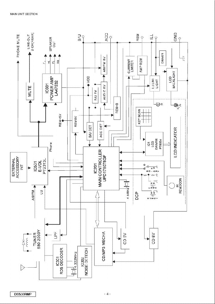Wondrous Clarion Db538Rmp Sm Service Manual Download Schematics Eeprom Geral Blikvitt Wiring Digital Resources Geralblikvittorg