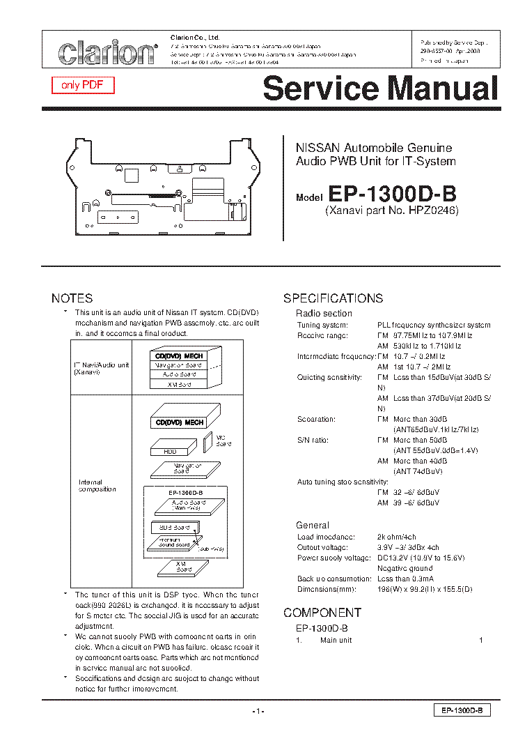 Clarion Dxz655mp Wiring Diagram   Schematic Diagram on