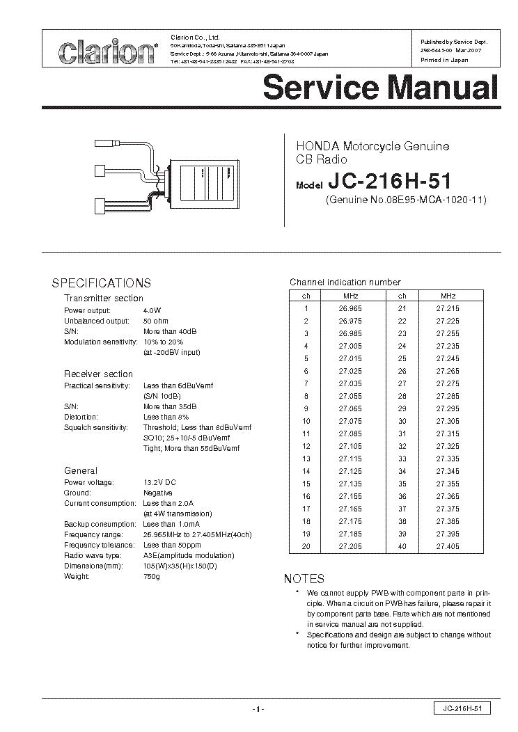 clarion dxz845mc 846mc service manual download schematics eeprom rh elektrotanya com