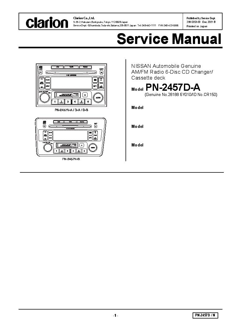 Magnificent Clarion Dxz715 Xdz716 Hx D10 Service Manual Download Schematics Wiring Database Hyediarchgelartorg
