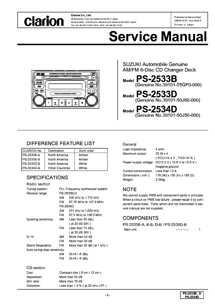 clarion_ps2533b_d_2534d.pdf_1 clarion cmd5 wiring diagram clarion cmd5 bluetooth adapter \u2022 45 63 clarion cmd4a wiring diagram at gsmx.co