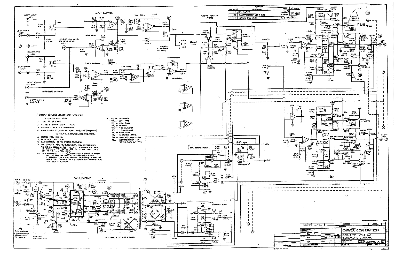 CARVER M2120 SCH Service Manual download, schematics ...