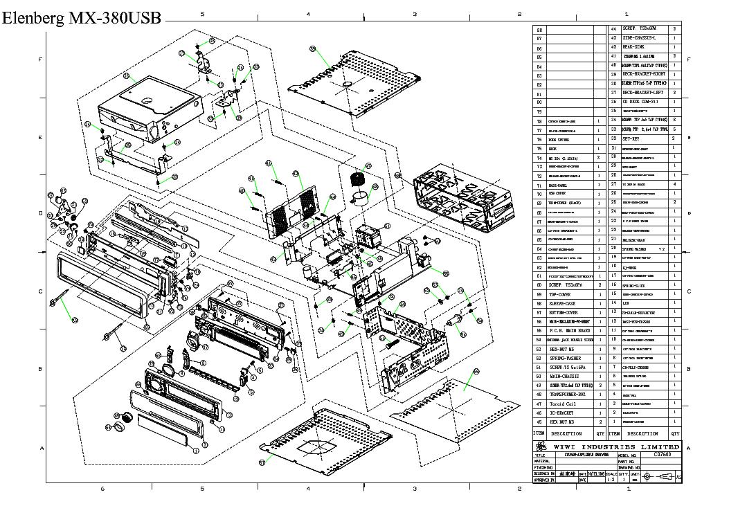 elenberg mx-380usb инструкция