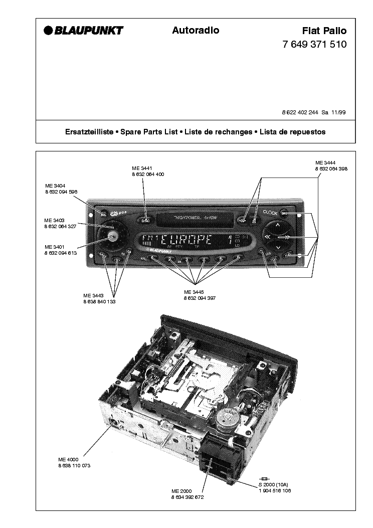 fiat palio caraudio service manual download schematics eeprom rh elektrotanya com manual de fiat palio 1.7 diesel manual de fiat palio 1.8 hlx