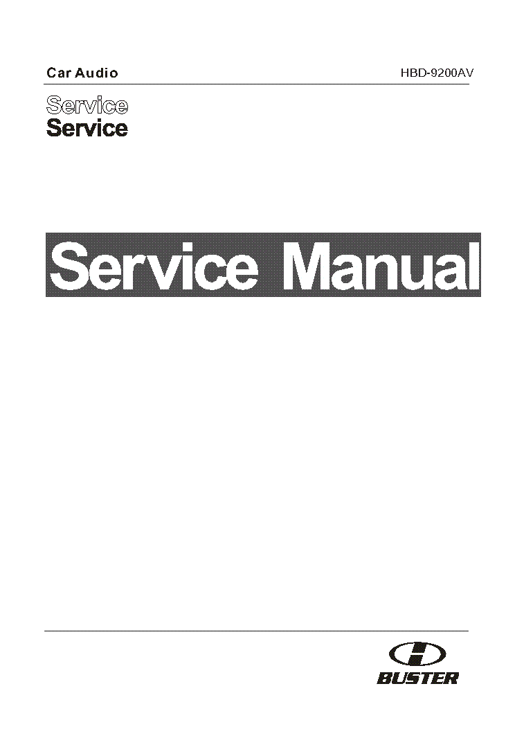 manual h-buster hbd-4200mp