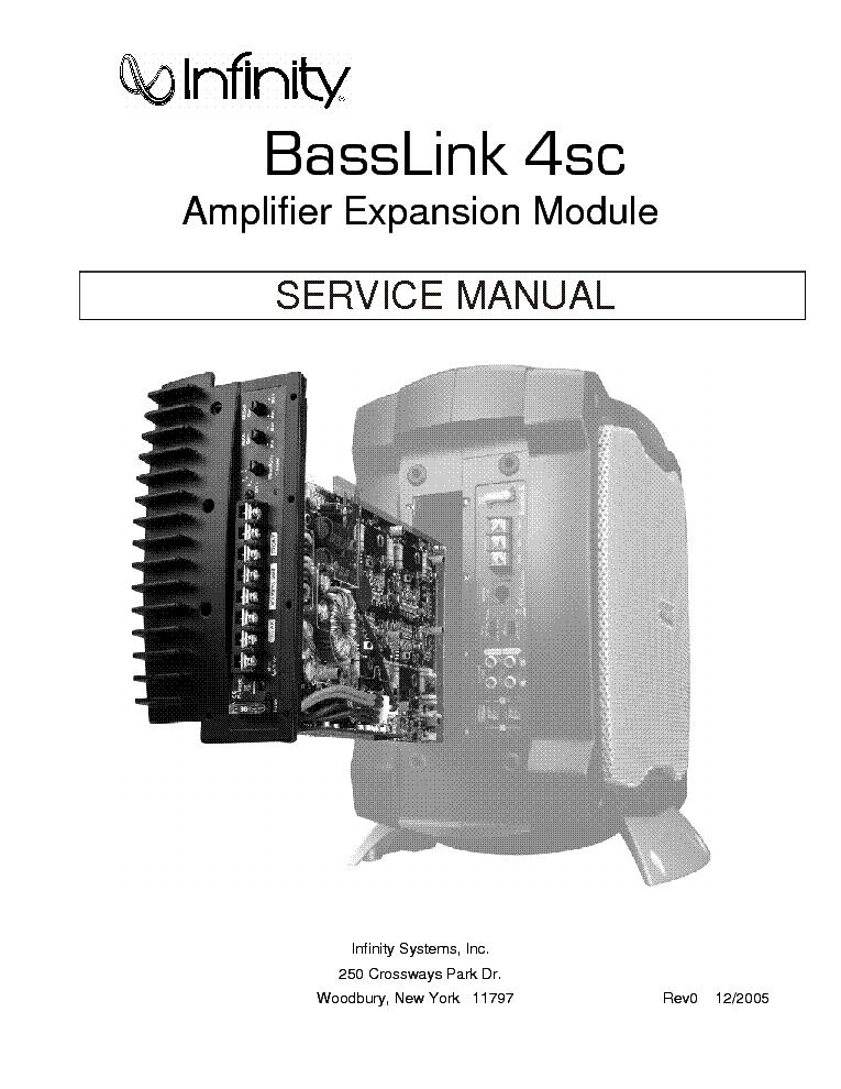 infinity basslink 4sc sm service manual download schematics eeprom rh elektrotanya com infinity basslink manual pdf infinity basslink t service manual