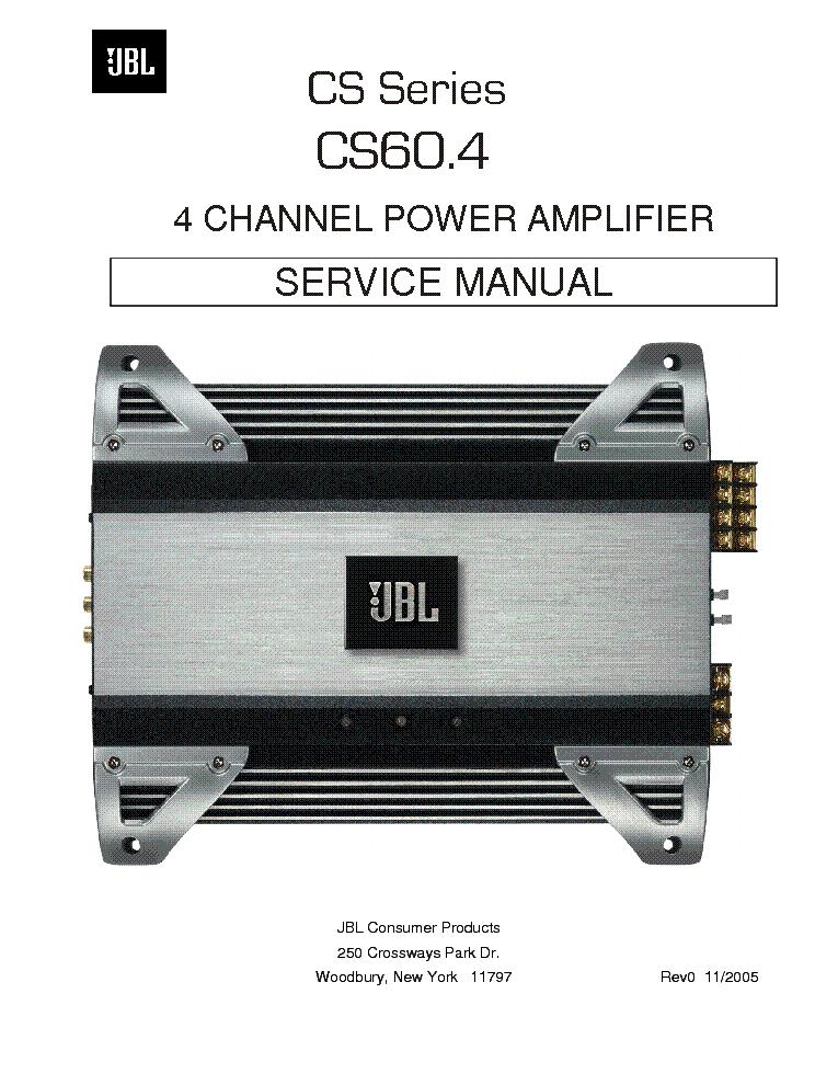 jbl cs60 4 sm service manual download schematics eeprom repair rh elektrotanya com JBL 6000 Watt Amplifier JBL Amplifier Review