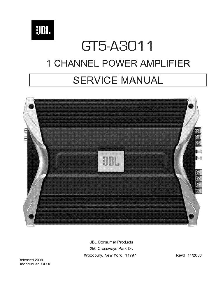 jbl gt5 a3011 car power amplifier sm service manual download rh elektrotanya com JBL Home Amplifiers JBL Power Amplifier