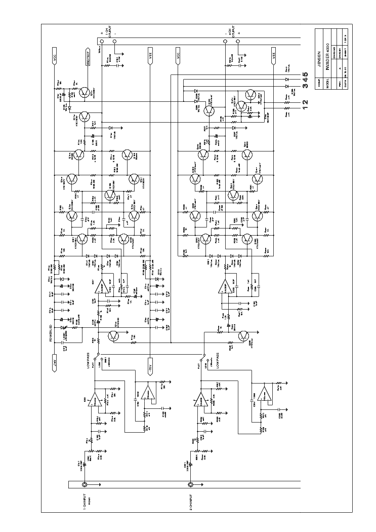Jensen Invader 4000 Sch Service Manual Download Schematics Eeprom