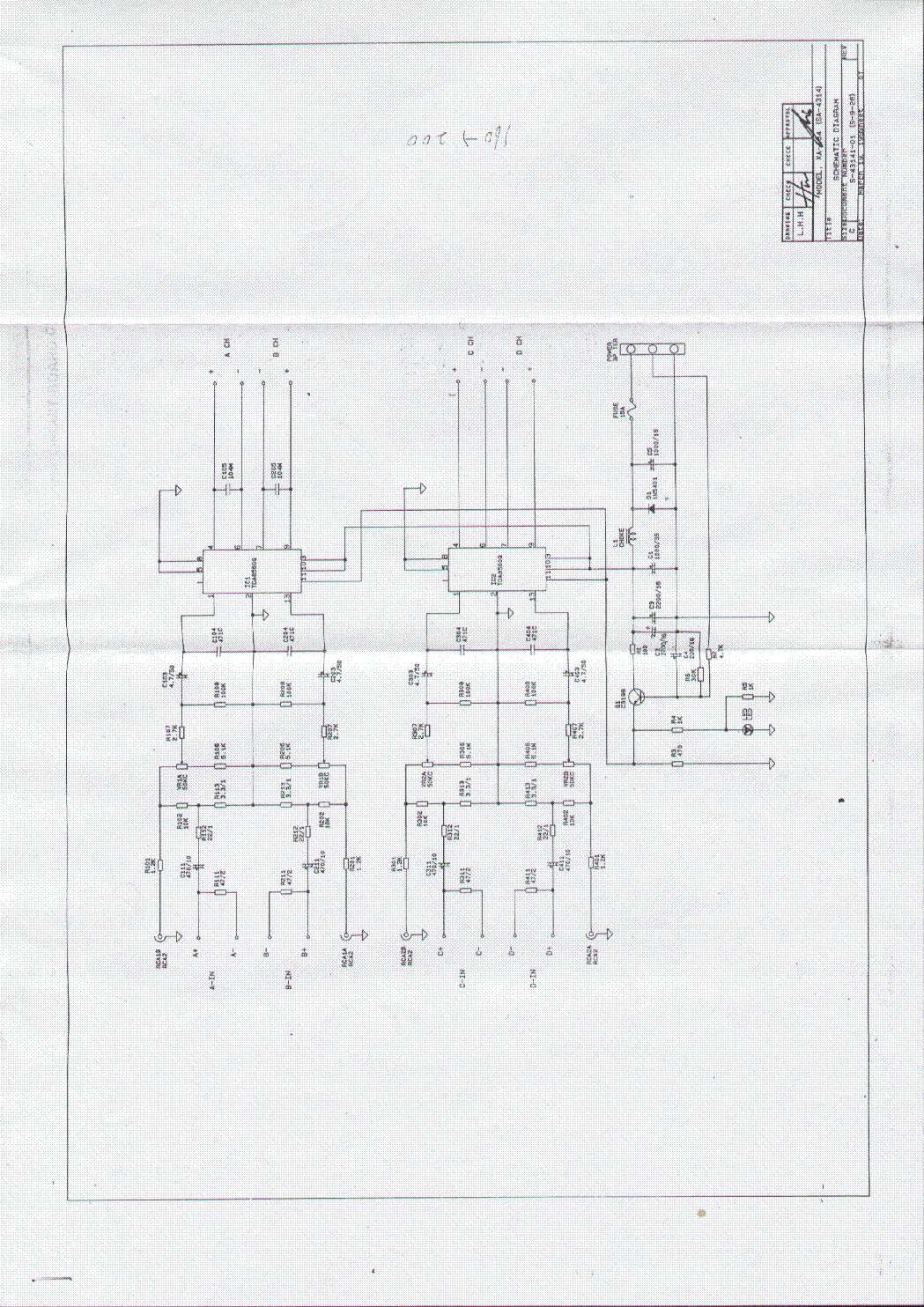 jensen car audio wiring diagram