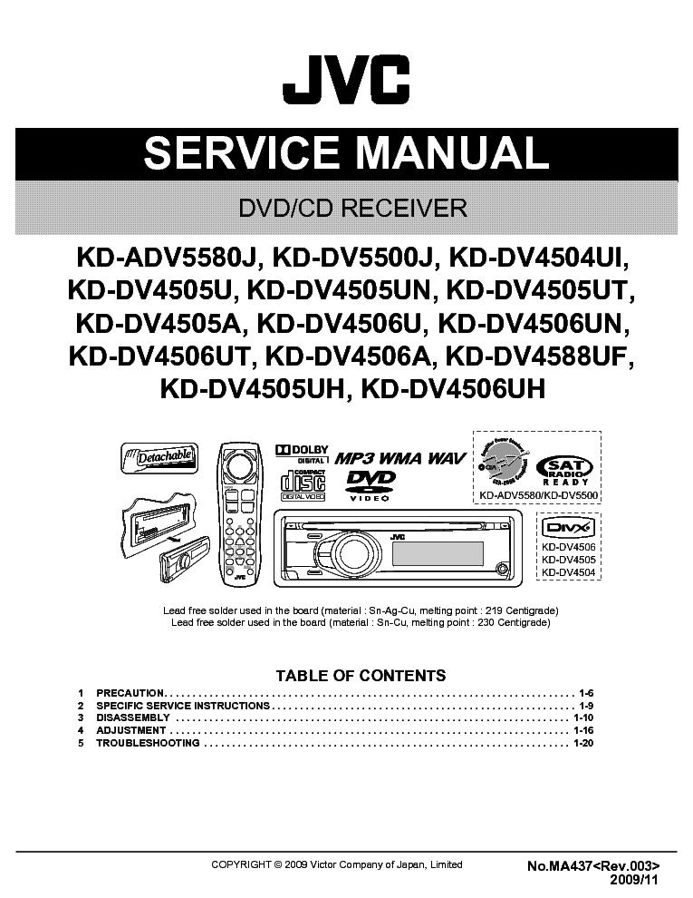 Jvc Car Cd Player Wiring Diagram : Jvc kd bt wiring diagram images