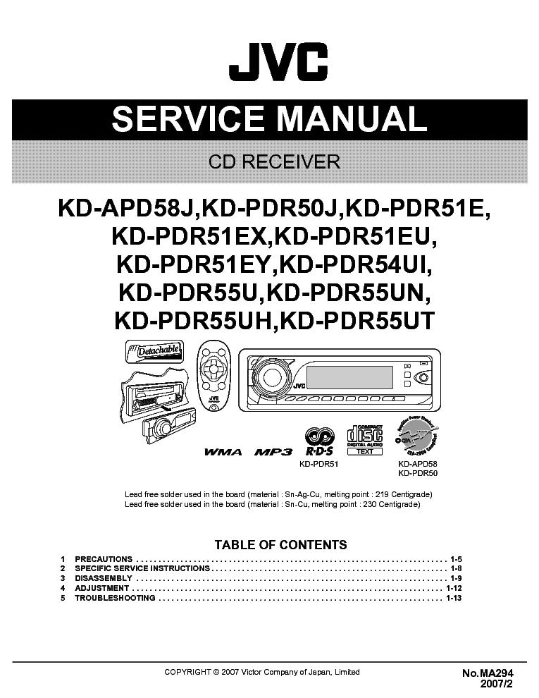 jvc_kd apd58_kd pdr50_kd pdr51_kd pdr54_kd pdr55_ma294_sm.pdf_1 jvc kd apd58 kd pdr50 kd pdr51 kd pdr54 kd pdr55 ma294 sm service jvc kd-pdr50 wiring diagram at readyjetset.co