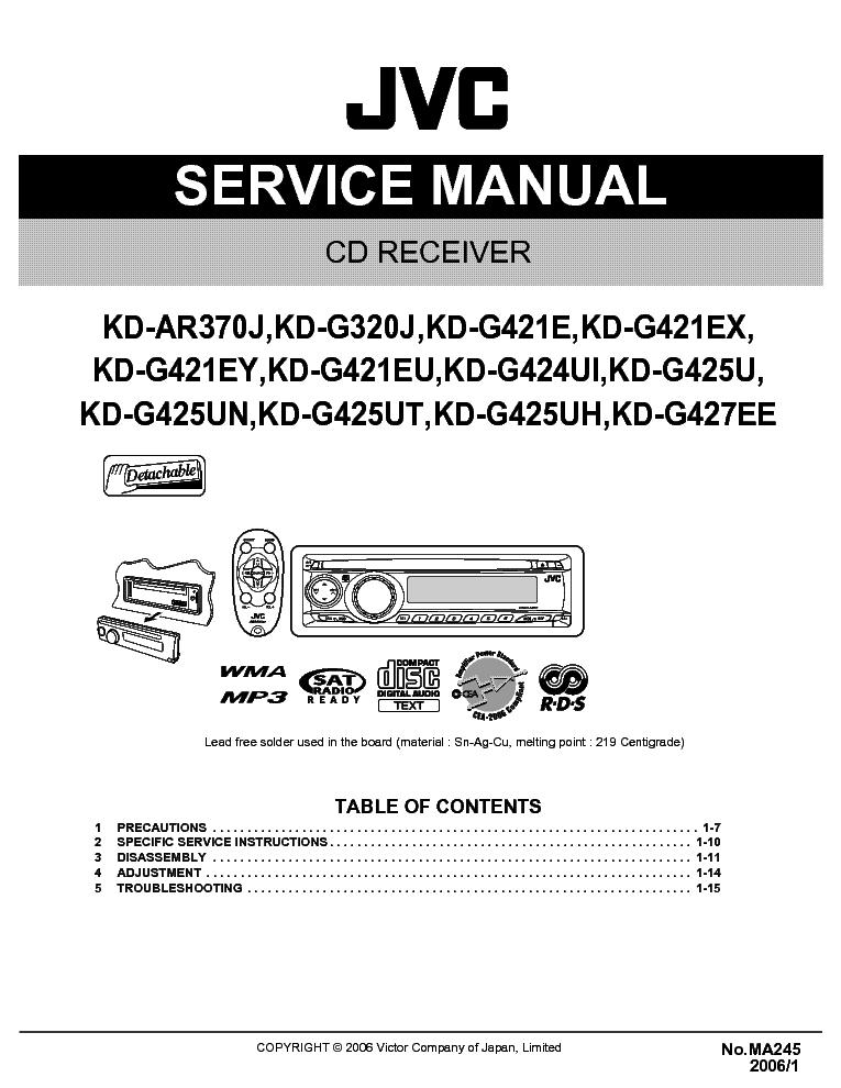 jvc_kd ar370_kd g320_kd g421_kd g424_kd g425_kd g427 ma245 .pdf_1 jvc kd ar370 kd g320 kd g421 kd g424 kd g425 kd g427 ma245 jvc kd g320 wiring diagram at aneh.co