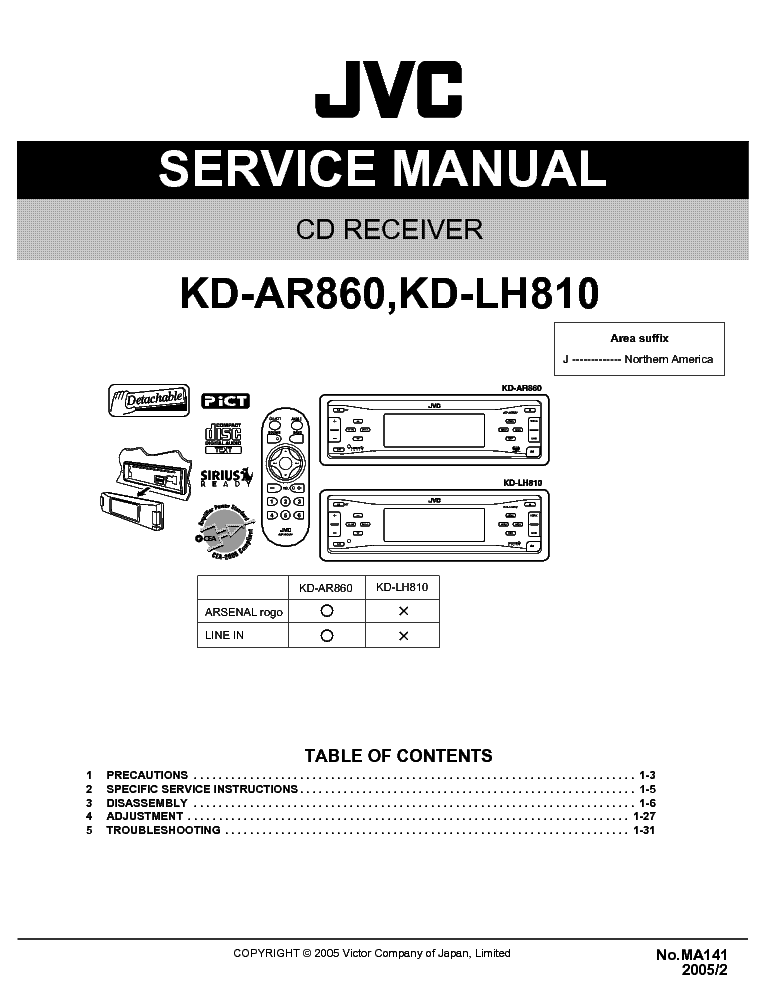 jvc_kd ar860_kd lh810 ma141 .pdf_1 jvc avx 900 wiring diagram jvc wiring diagrams jvc kd r320 wiring diagram at edmiracle.co