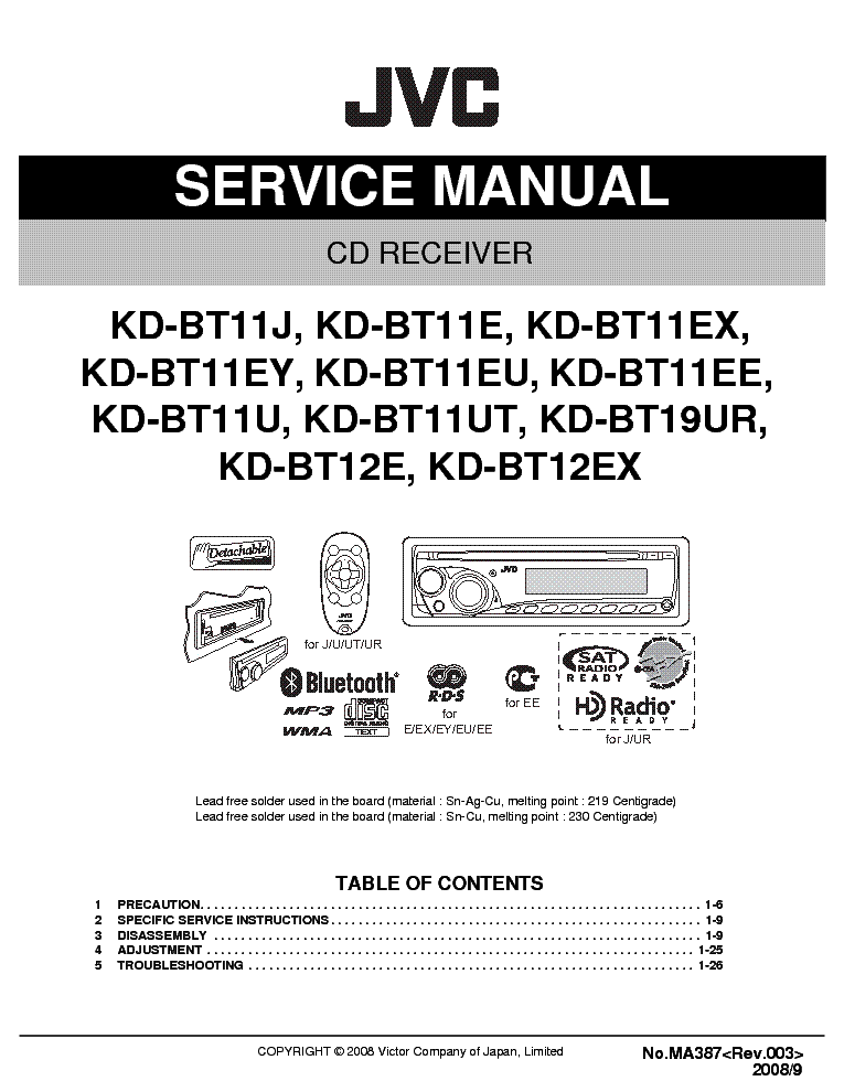 jvc kd r311 wiring diagram   26 wiring diagram images