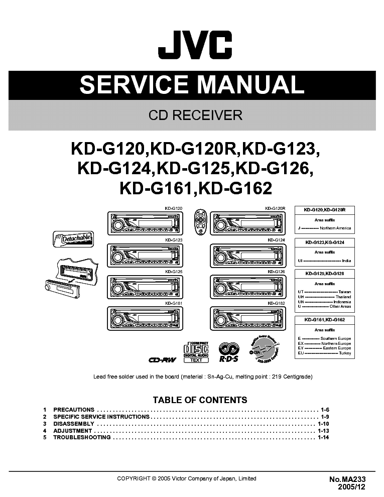 jvc kd g200 wiring diagram jvc automotive wiring diagrams