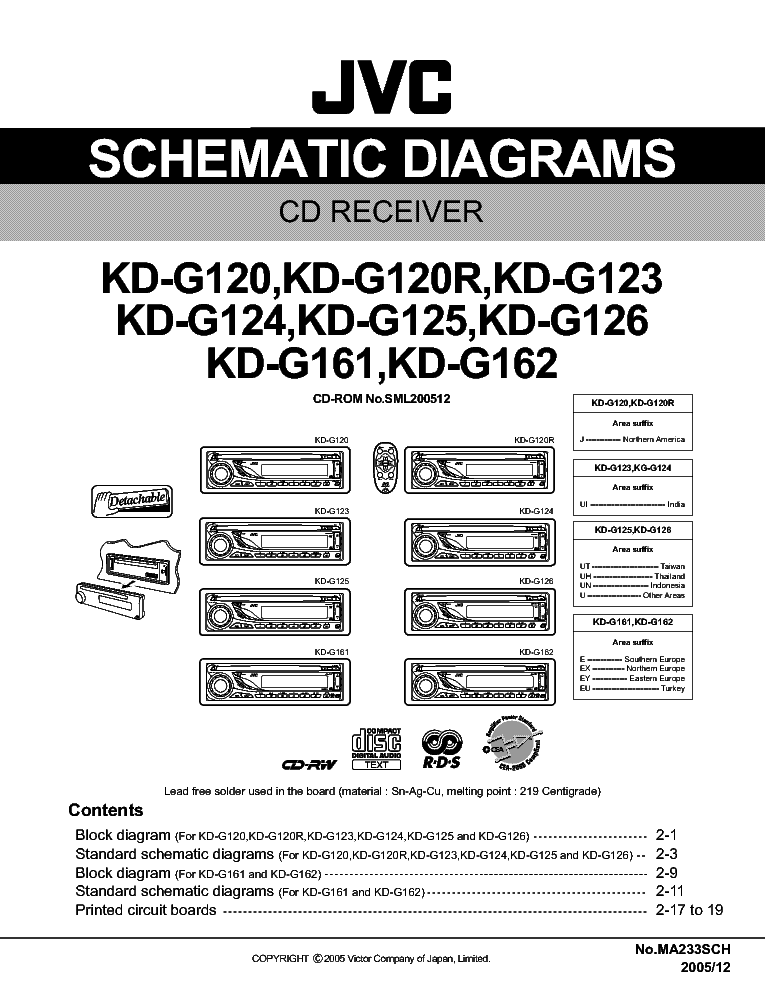 jvc kd g110 wiring diagram jvc wiring diagrams cars