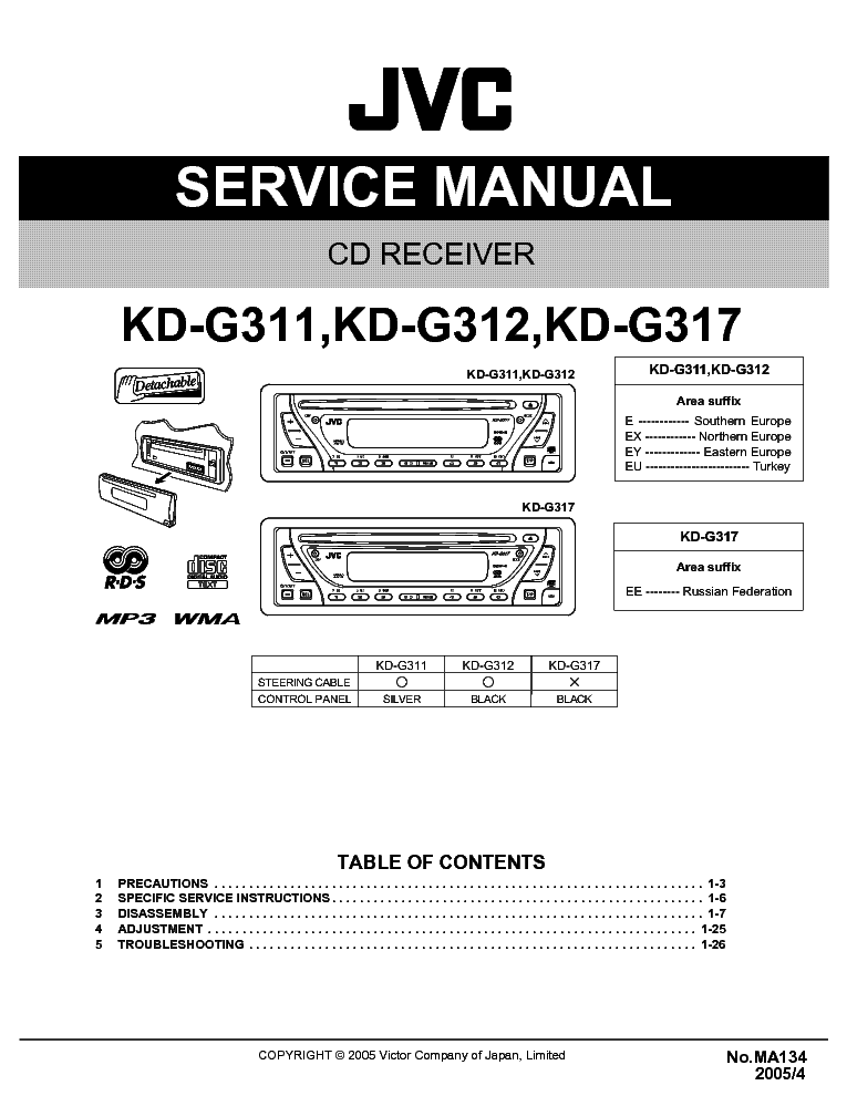 jvc_kd g311_312_317.pdf_1 jvc kd g320 wiring diagram jvc kd 320 manual, jvc kd r320 wiring jvc kd g340 wiring diagram at gsmportal.co