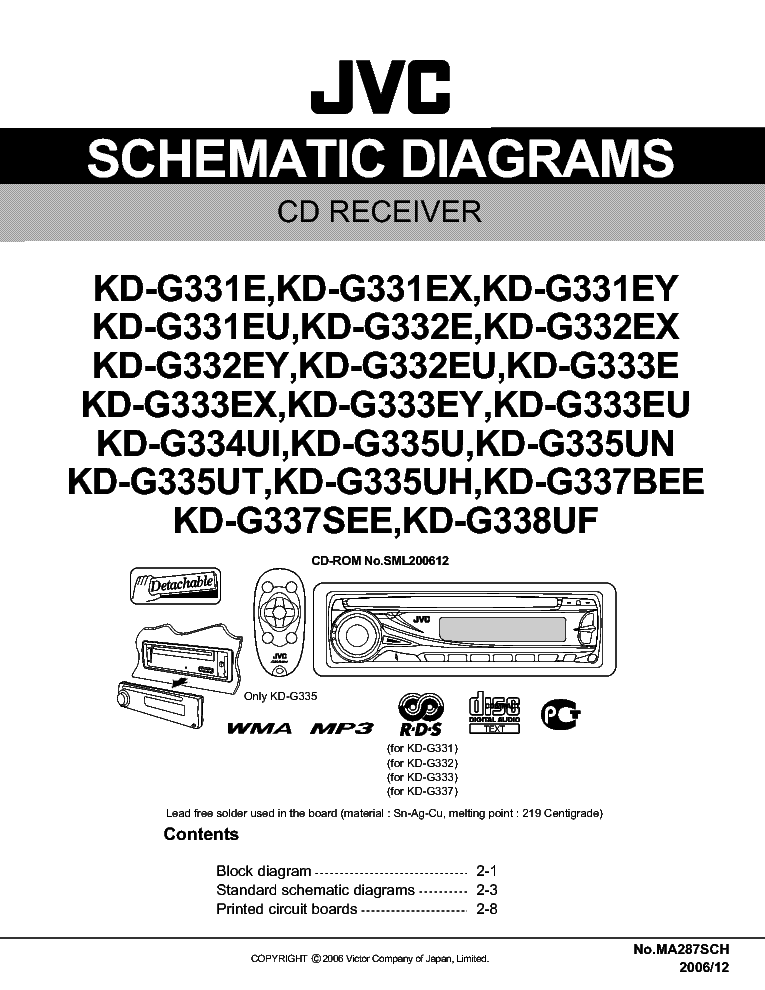 Jvc a-gx3/gx3b amplifier service manual | service manuals-pdf.