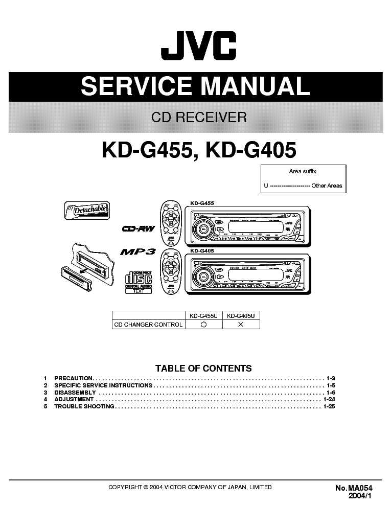 jvc_kd g405_kd g455 ma054 .pdf_1 jvc kd g405 kd g455 ma054 service manual download, schematics jvc kd-r710 wiring diagram at suagrazia.org