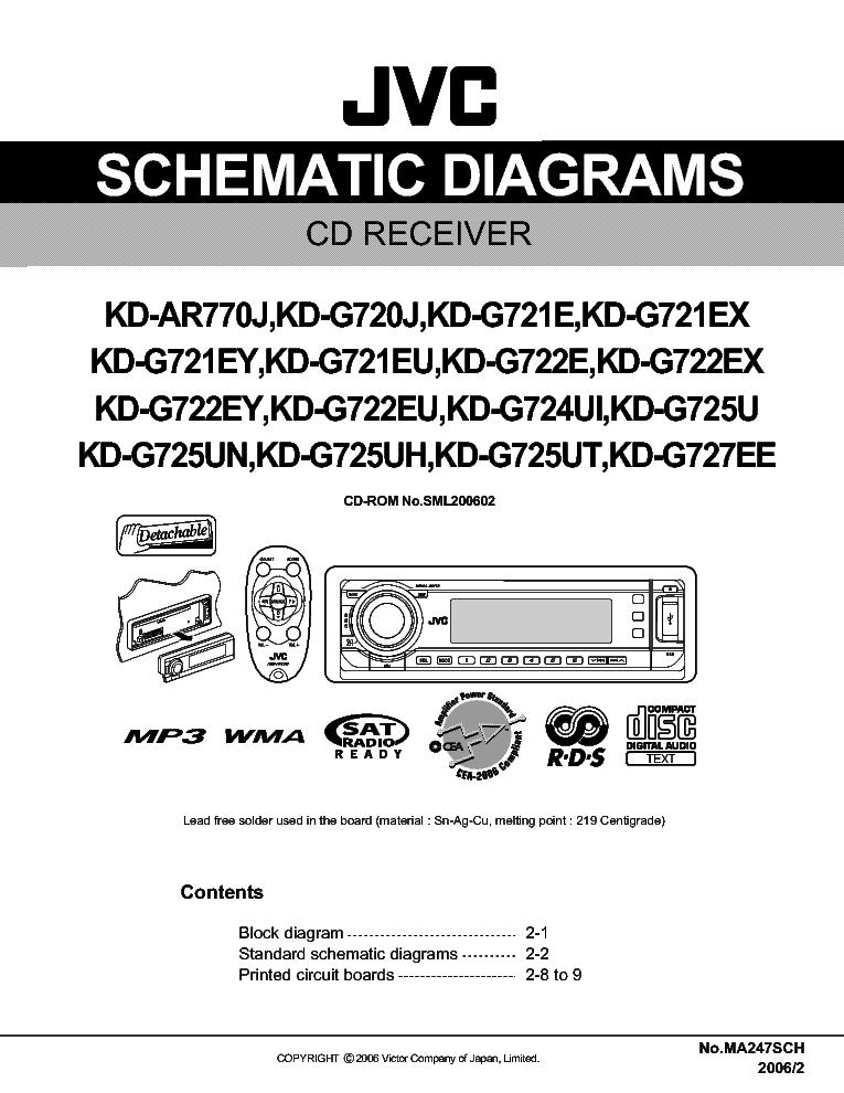 jvc kd g720 service manual download schematics eeprom repair info rh elektrotanya com JVC KD R330 Accessories JVC Car Audio KD 338