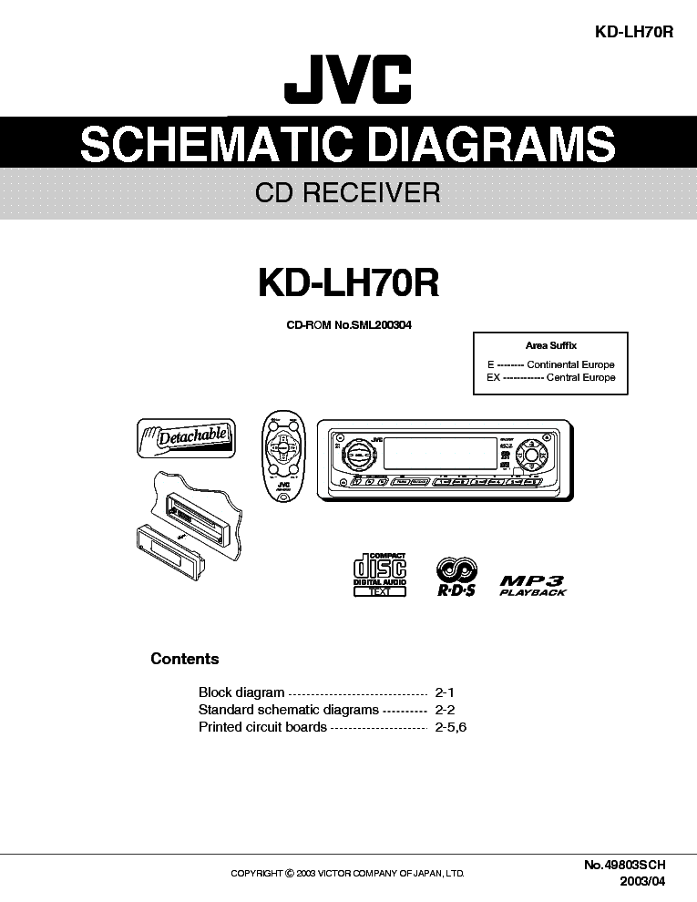 jvc kd lh70r sm service manual download schematics. Black Bedroom Furniture Sets. Home Design Ideas