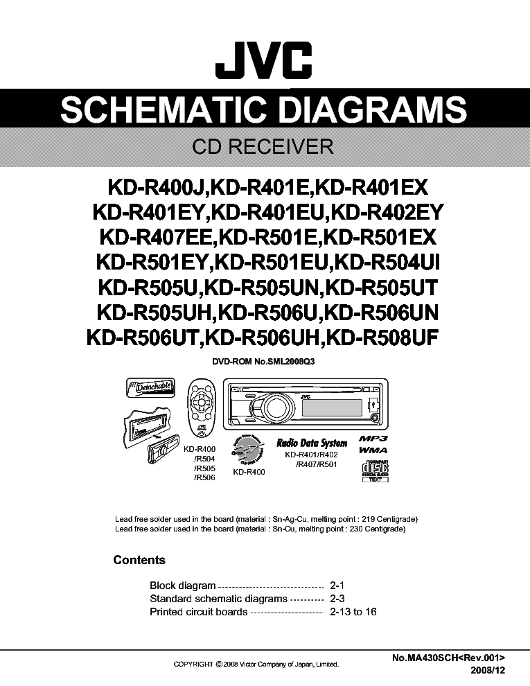 jvc_kd r401xx sch.pdf_1 jvc kd r401xx sch service manual download, schematics, eeprom jvc kd-r401 wiring diagram at soozxer.org