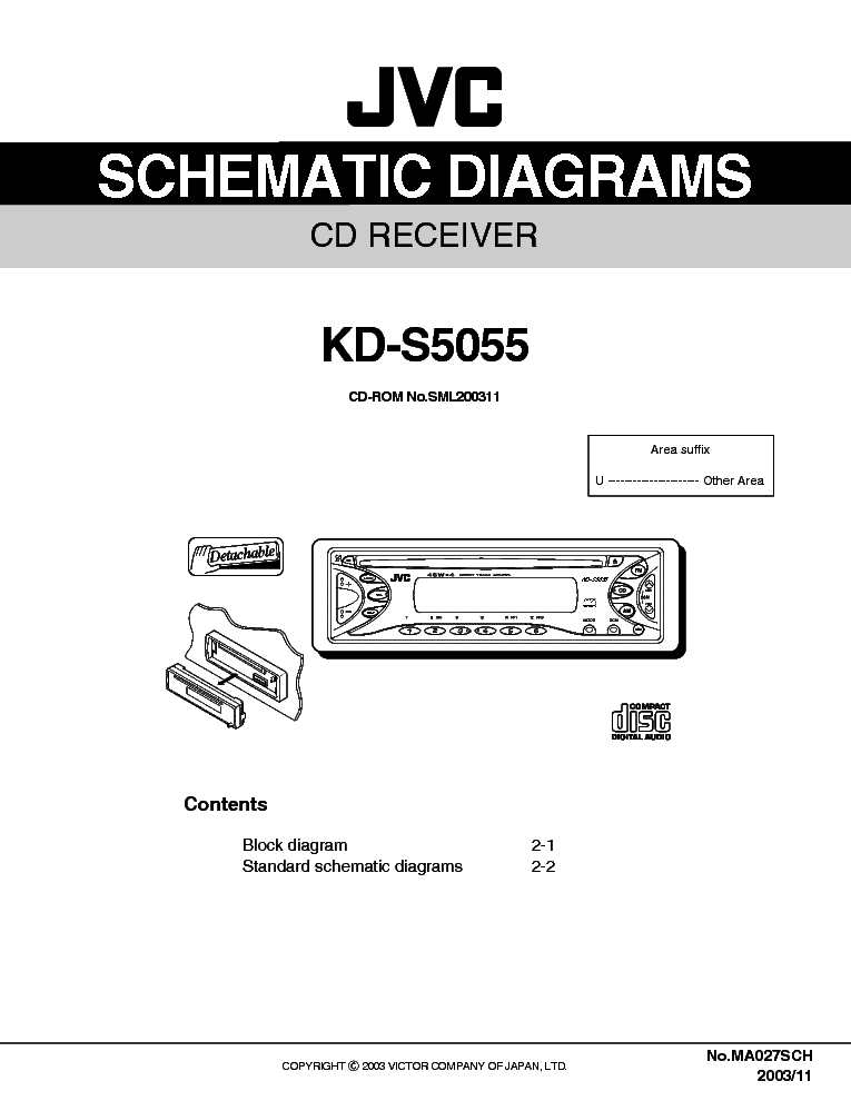 Jvc Kd S5055 Sch Service Manual