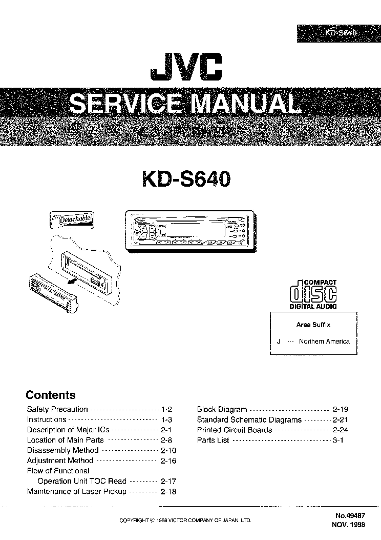 jvc kd s640 wiring diagram   26 wiring diagram images