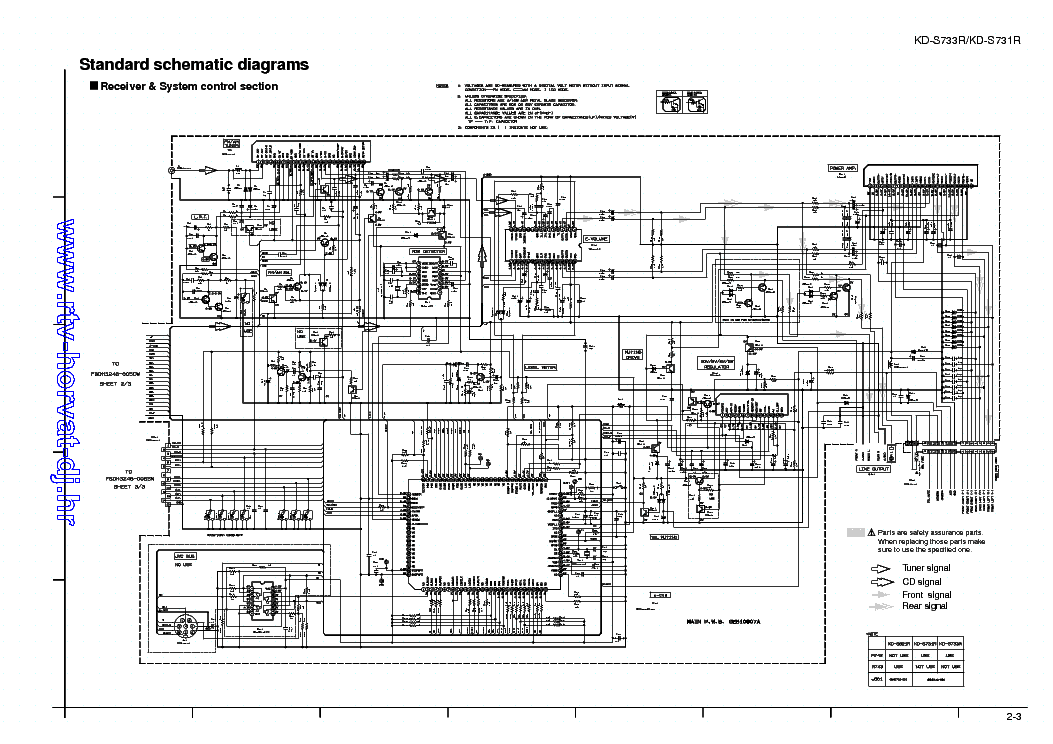 JVC    KDS731R KD733R SCH Service    Manual    download
