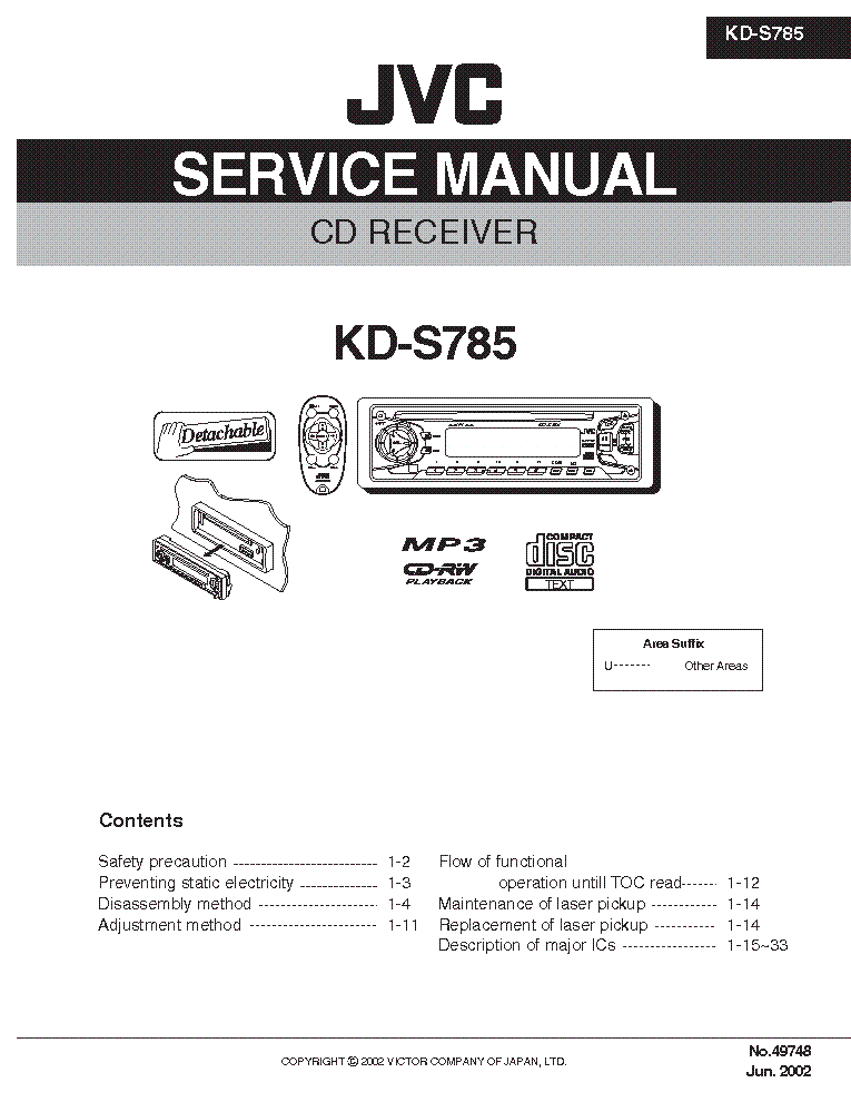 jvc_kd s785.pdf_1 jvc kd r300 wiring diagram jvc kd r330 wire diagram, jvc headunit jvc kd r330 wiring harness at n-0.co