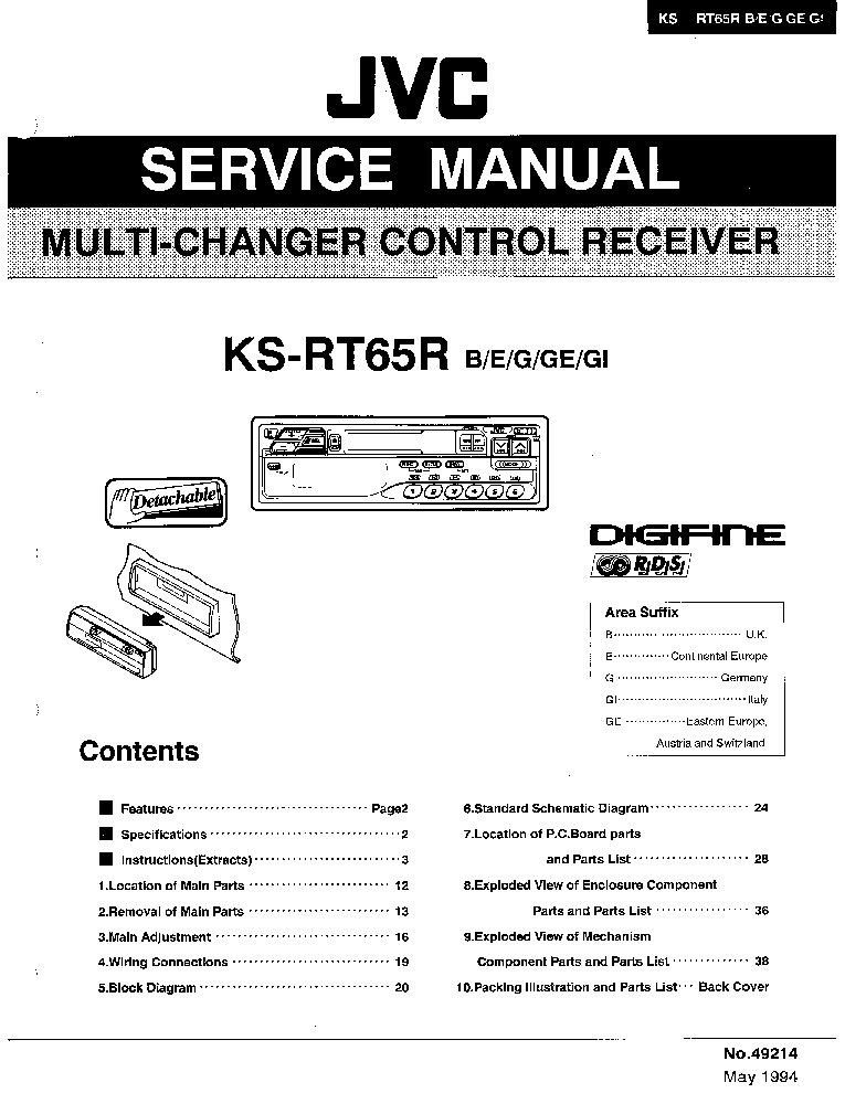 jvc kd r401 wiring diagram   26 wiring diagram images