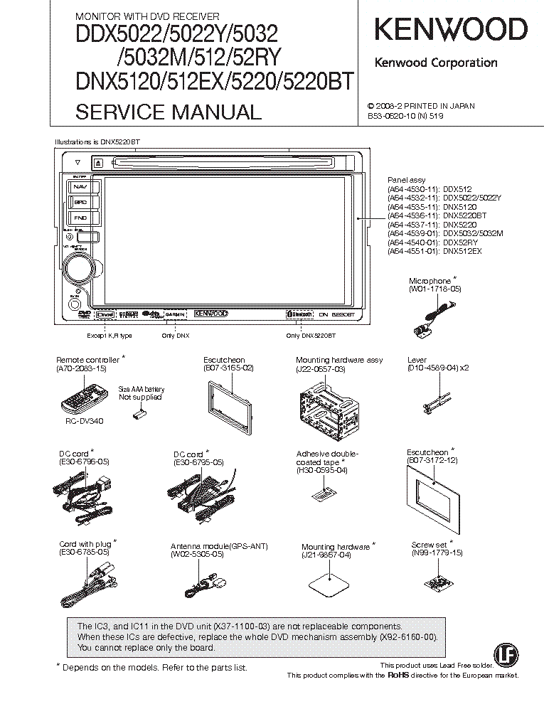 Kenwood Ddx Wiring Diagram. Wiring. Wiring Diagrams Instructions