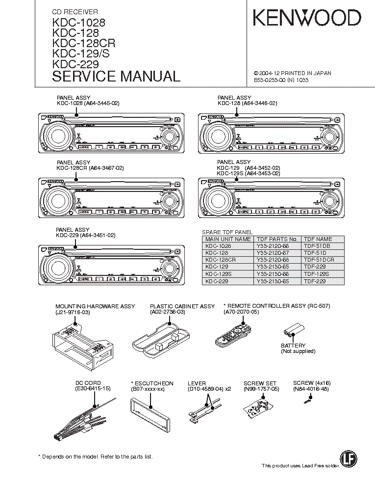 kenwood kdc 1028 wiring diagram  | mifinder.co