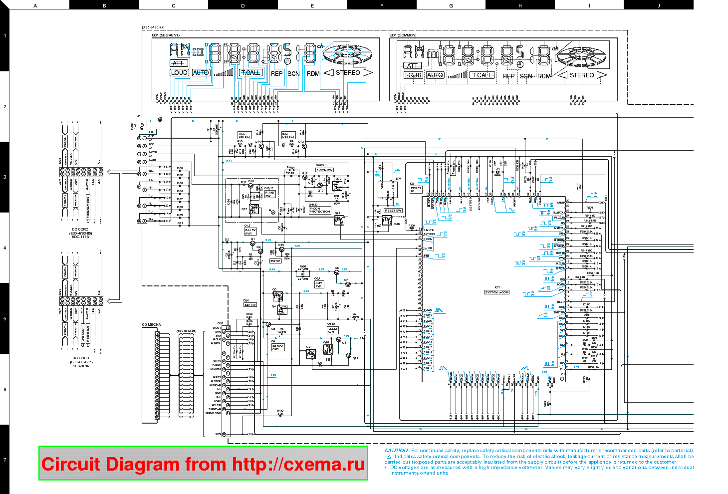 Kenwood Wiring Diagram Another Blog About Model Kdc 6001 Dnx Get Free Image Ddx371